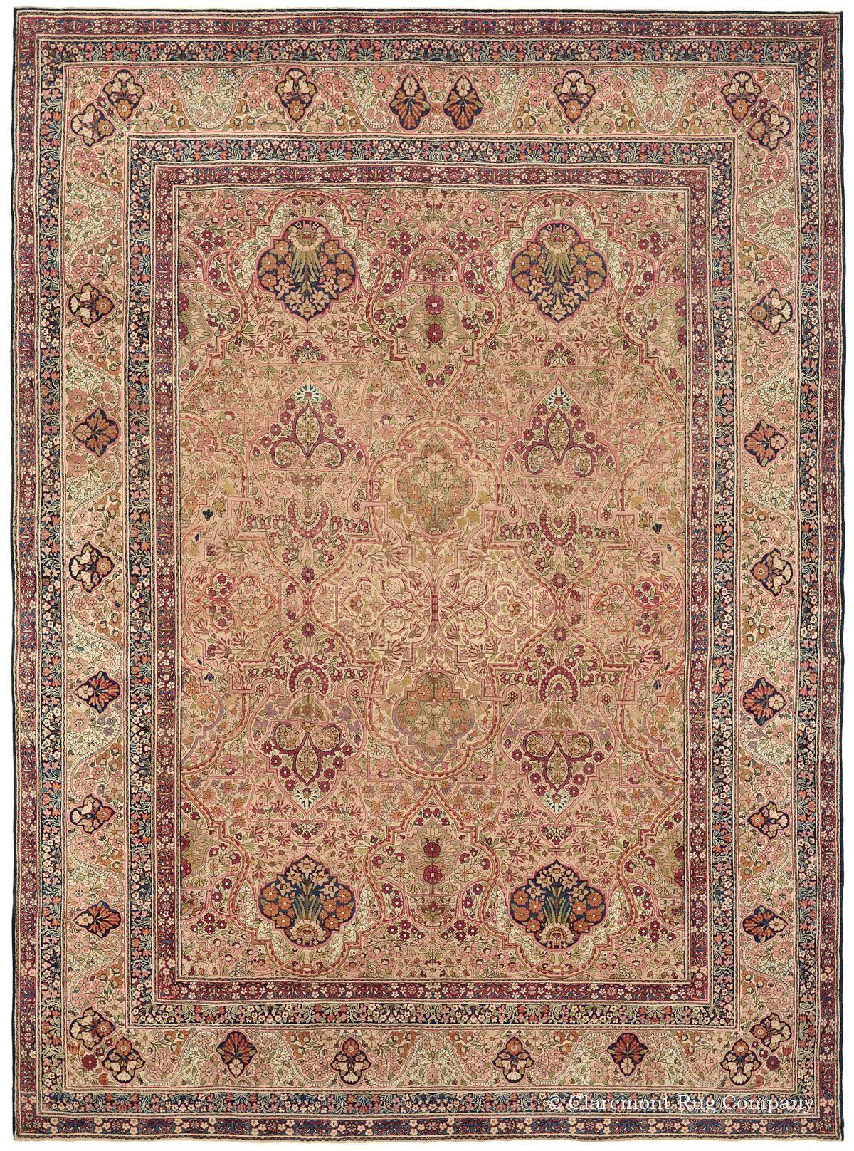 Antique Persian Rugs Antique Carpet Room Size Laver Kirman Rugs Rugs On Carpet Antique Persian Rug