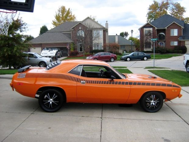 Plymouth Barracuda Muscle Car Classic Cars Pinterest