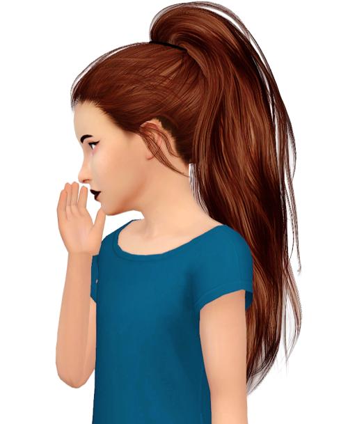 fabienne Stealthic Paradox Kids Version Sims, Mods