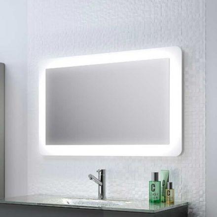 Miroir lumineux pour salle de bain Syst¨me d éclairage par lampes