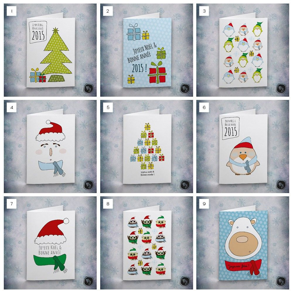 Greeting Cards Winter Time Christmas 2015 New Year Ideas New Year