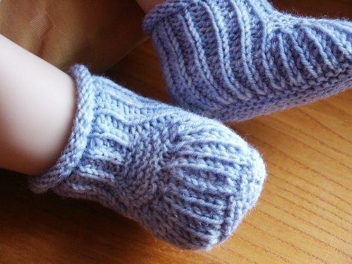 Free Baby Boy Knitting Patterns Easy Knit Cable Bootie Pattern Extraordinary Free Baby Booties Knitting Pattern