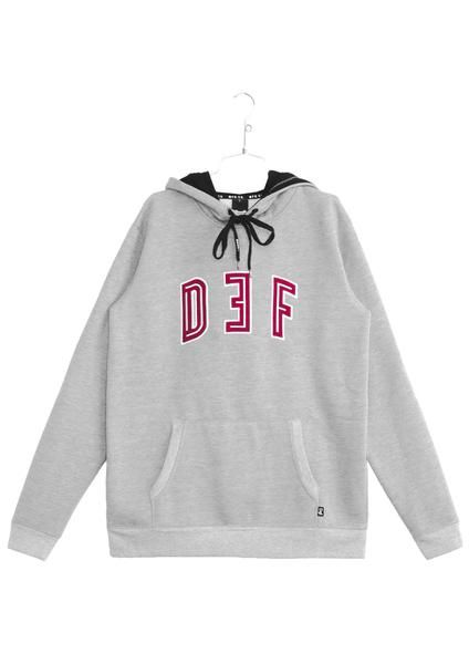 Def Stroke Hood - Heather (E)