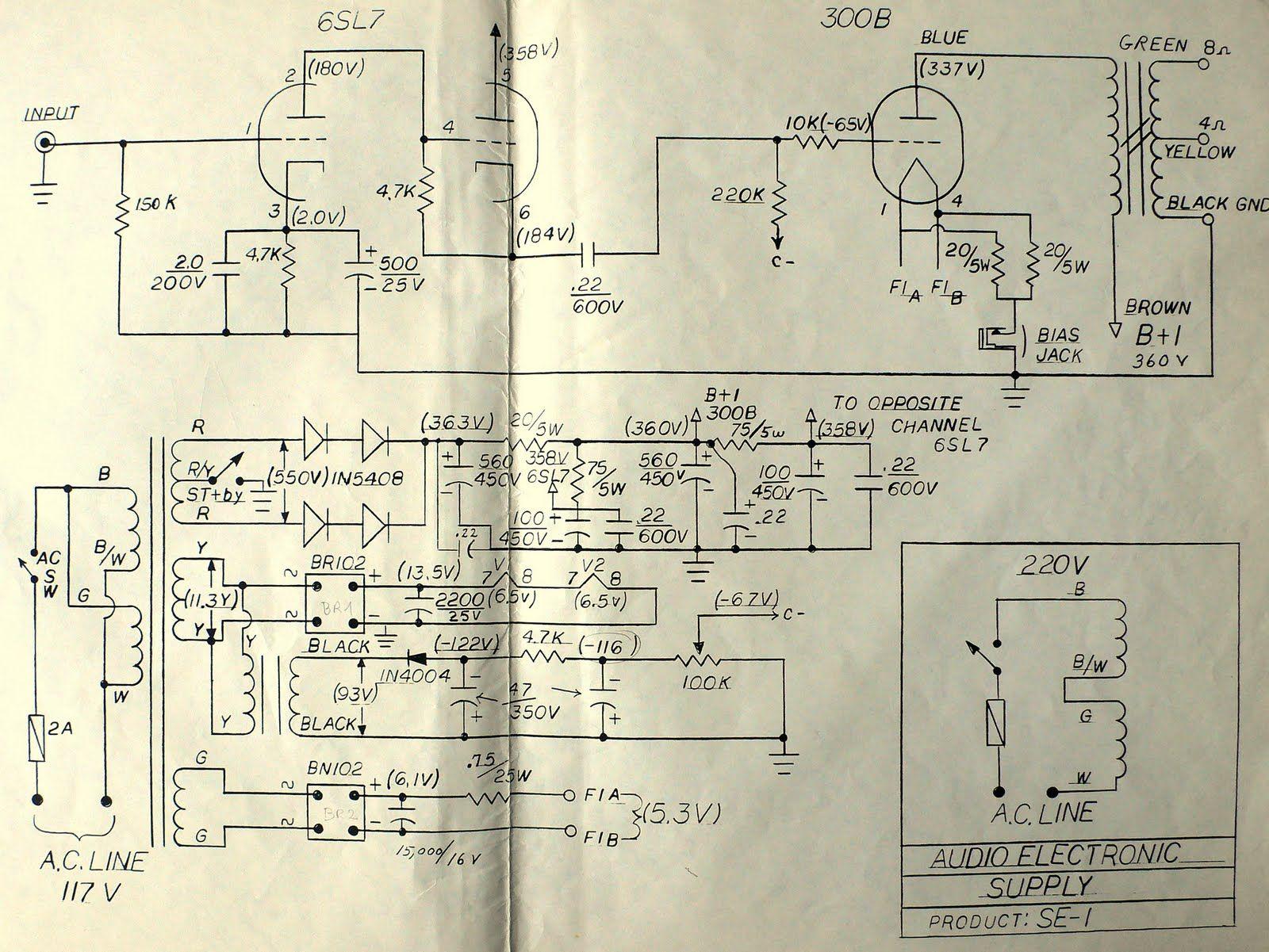 cary slp 98 schematic