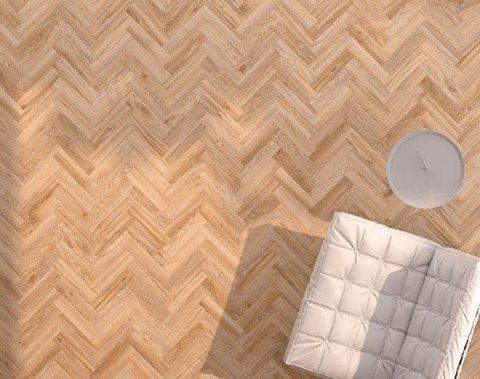 Vinyl Vloer Visgraat : Moods de visgraat houten vinylvloer van moduleo een moderne