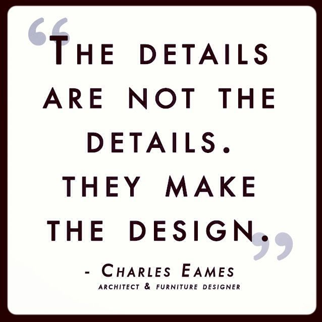 Heres a little quote by famous architect and furniture designer