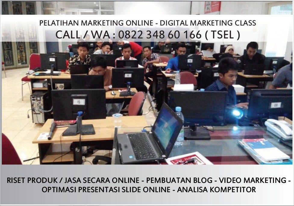 Wa 0822 348 60 166 Pelatihan Online Marketing Batam Latihan Tips Mengajar Pemasaran Online