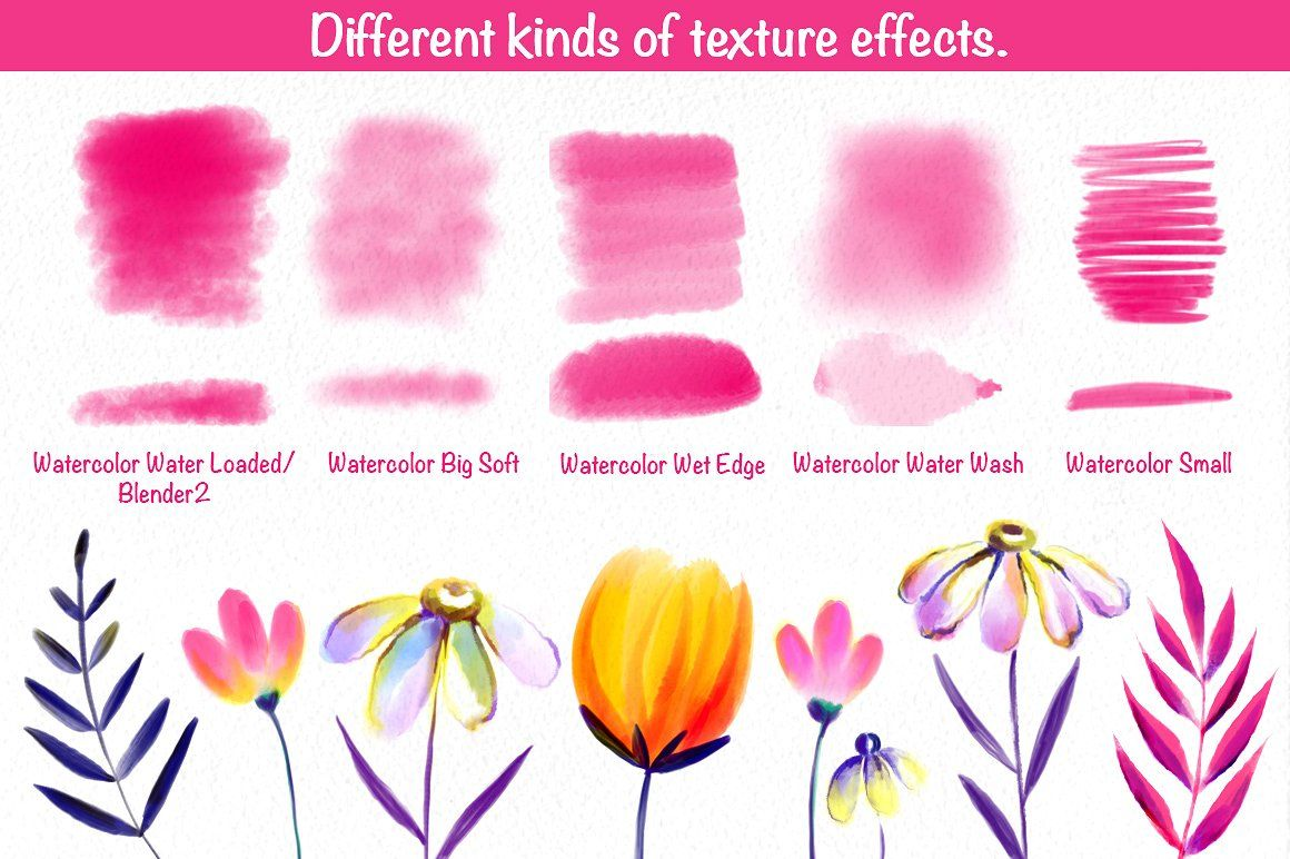 50 Procreate Watercolor Brushes Procreate Procreate Tutorial