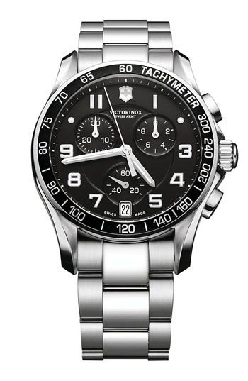 f98b6f30f9a Victorinox Swiss Army  Chrono Classic  Bracelet Watch Relogio Victorinox