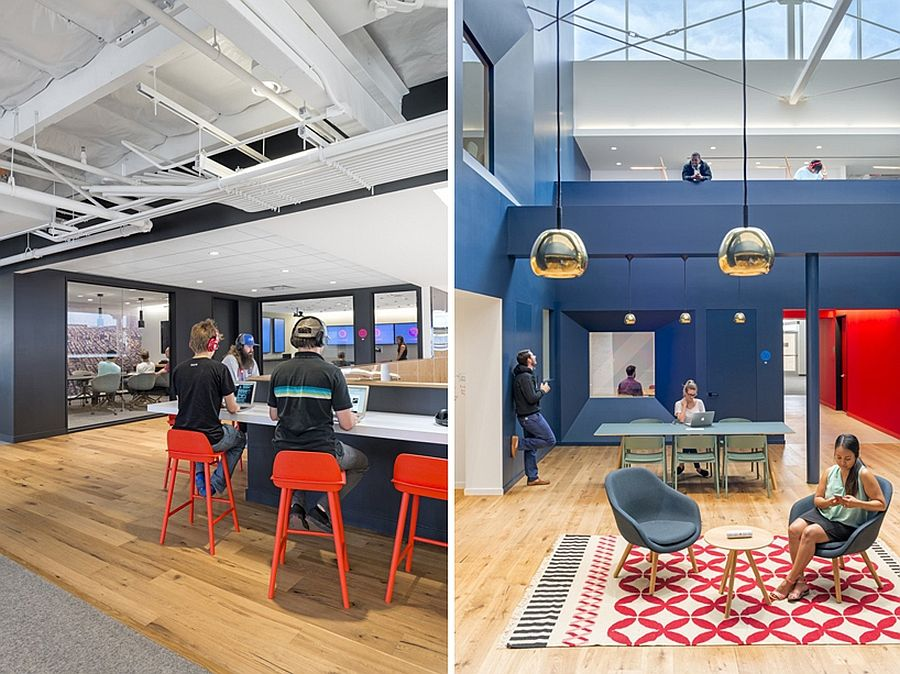 beats by dre office. Bright Colors And Beautiful Pendant Lights Enliven The Beats Headquarters By Dre Office 3