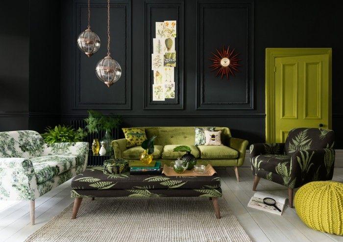 Inneneinrichtung Ideen Wohnzimmer | Greenery Design Trends Wohnzimmer Decor Ideas Pinterest