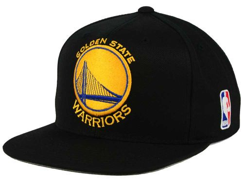best sell outlet online top fashion Golden State Warriors Mitchell and Ness NBA XL Logo Snapback Cap Hats