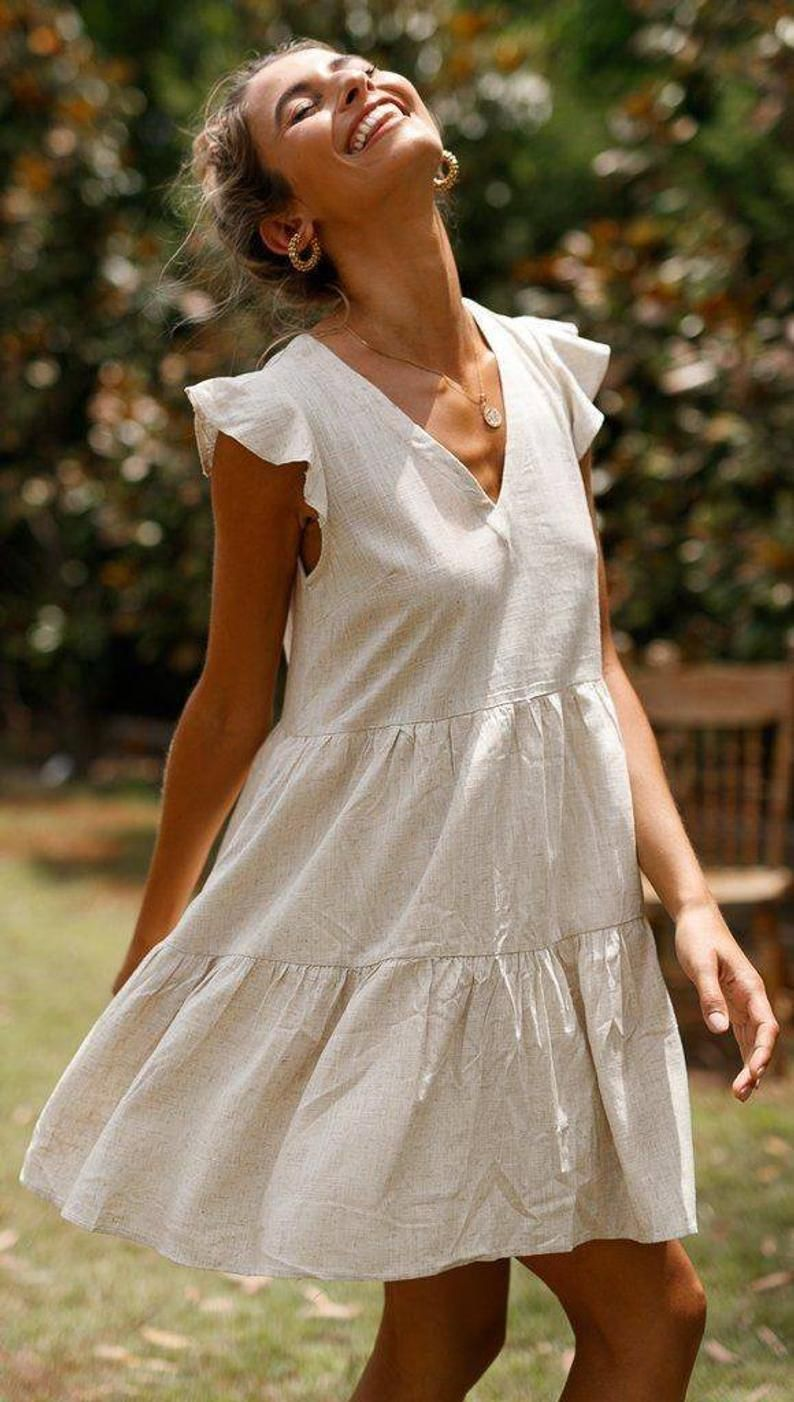 This Beautiful Casual Short Dress Made With Delicate Features To Gives It A Perfect Look We Used Prem Short Dresses Casual Short Dresses Ruffled Short Dresses [ 1402 x 794 Pixel ]