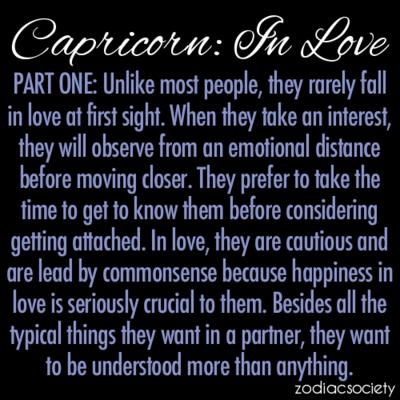 capricorns in love astrology