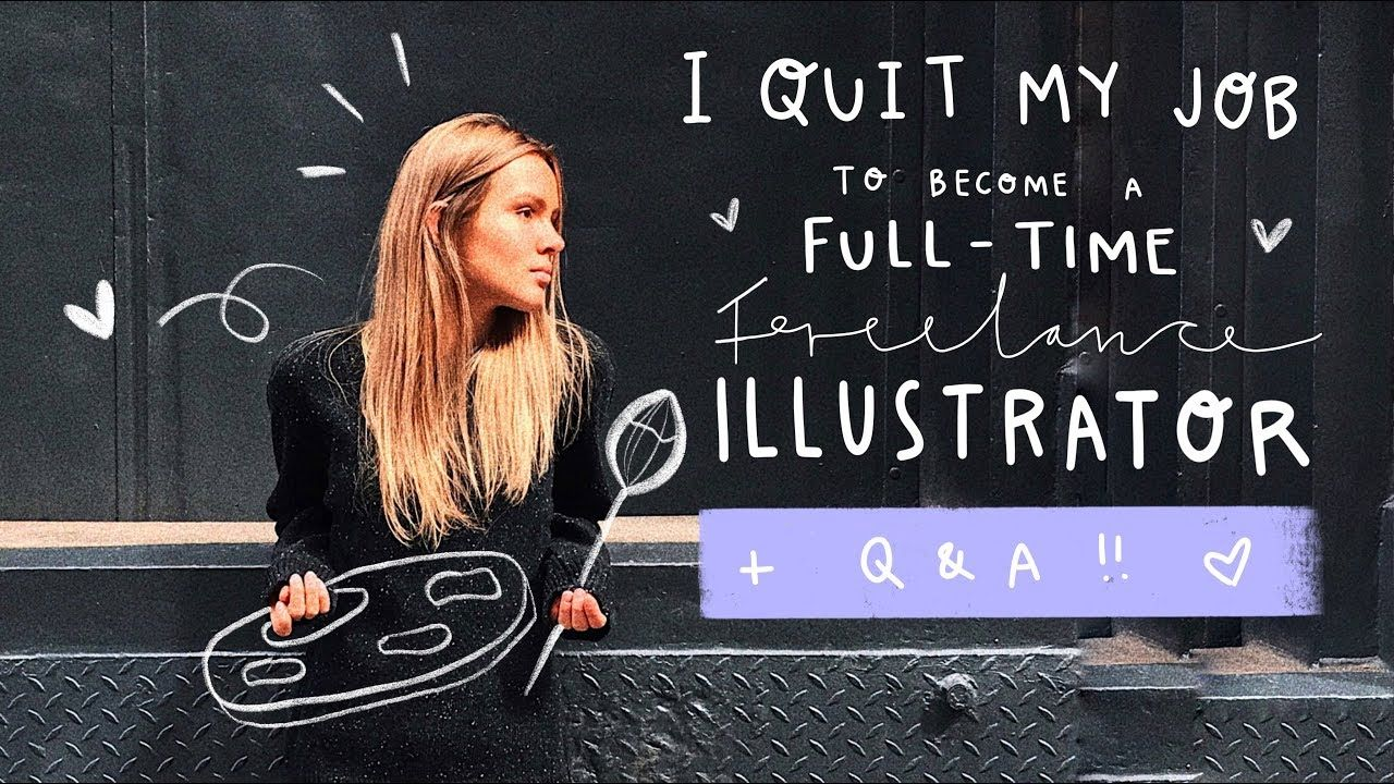 How i quit my job to a fulltime freelance