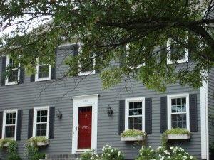 Cute house! Those colors look familiar...