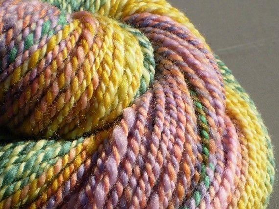 SALE Fiona's Beautiful Mess handspun yarn  no by GregoryRoad, $37.83