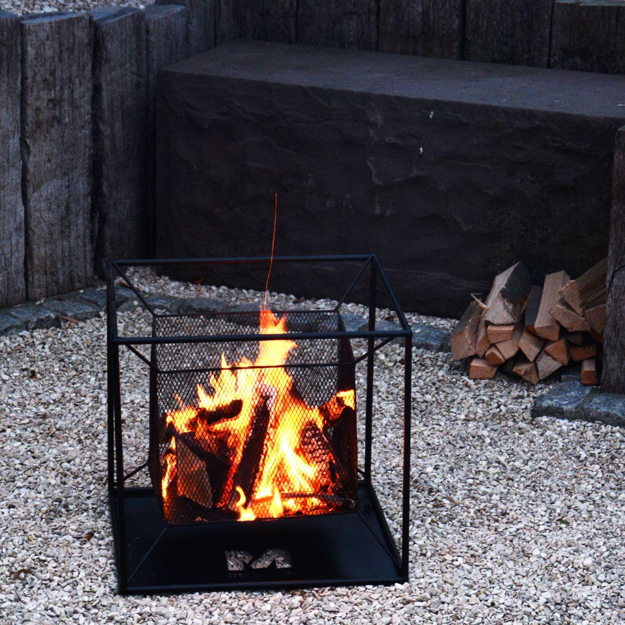 Feuerschale Terrassenofen Fur Gemutliches Lagerfeuer Und Gartenpartys 44 Cm Feuerschale Feuerkorb Gartenparty