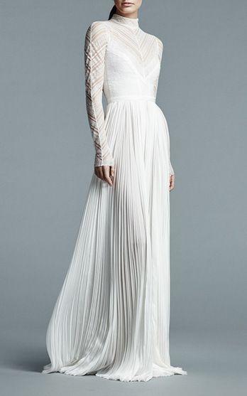 j. mendel bridal spring summer 2017 | moda operandi | bodas