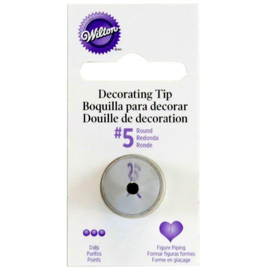 Wilton Round Decorating Tip