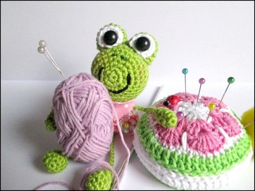 Taschenbaumler Froschi - Häkelanleitung | Häkeln crochet | Pinterest ...