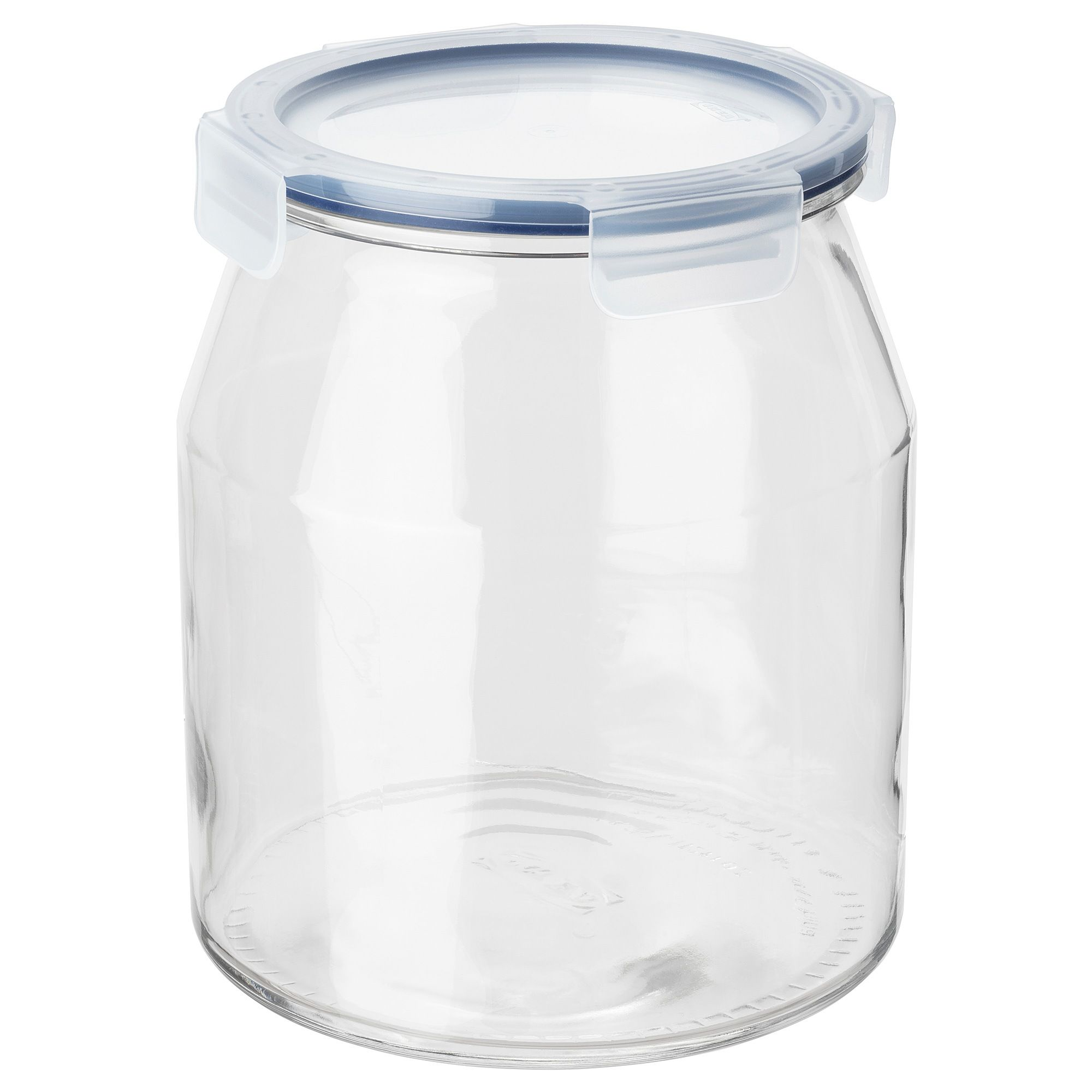 365 Jar With Lid Glass Plastic 112 Oz Ikea 365 Food Storage Organization Plastic Jars With Lids