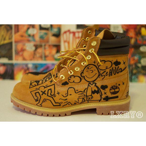 Timberland Custom Boots - Polyvore