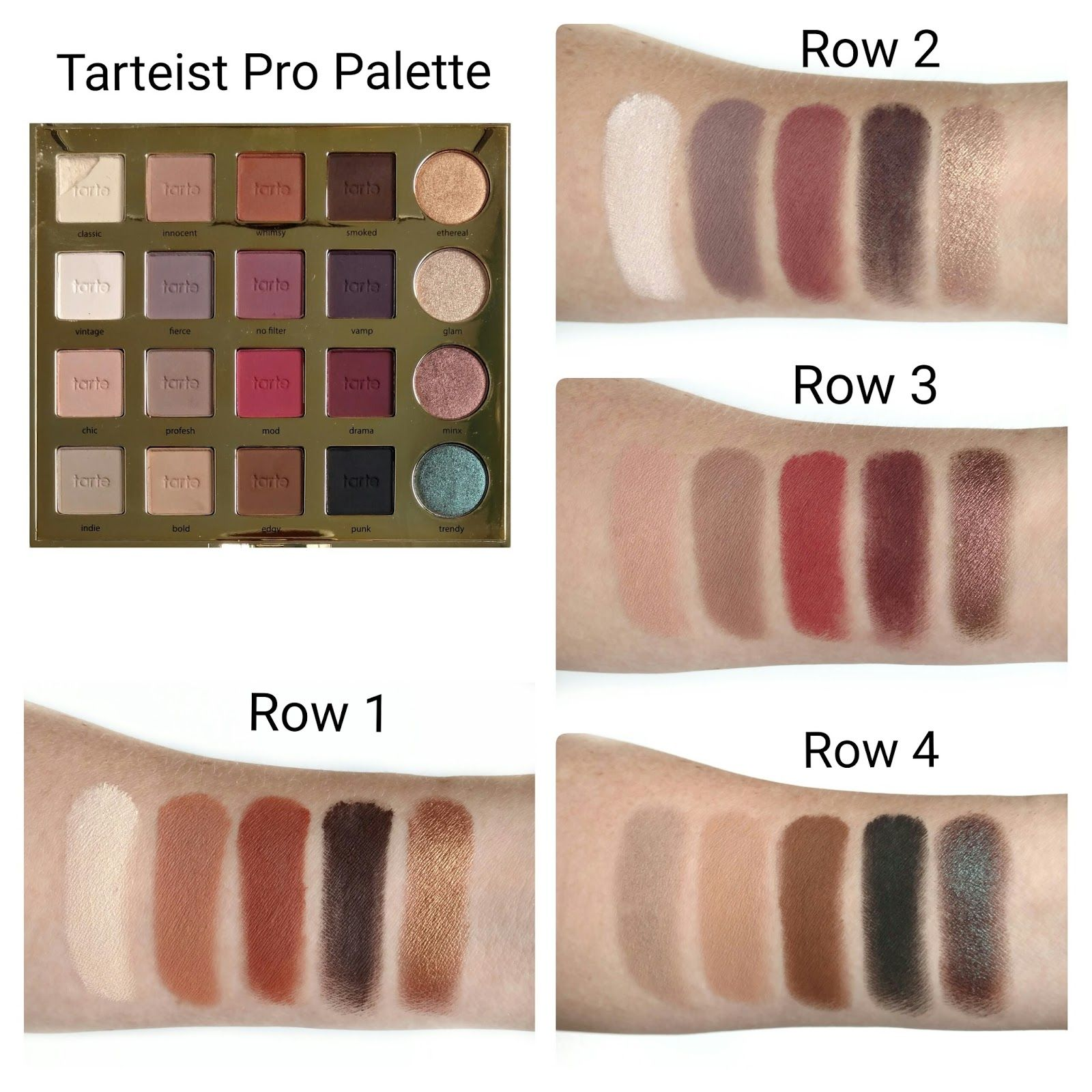 Tarte Tarteist Pro Palette Review | First Impression | Eye Makeup ...