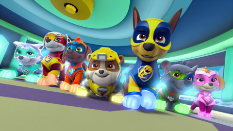 Paw Patrol Gang Get Superpowers As They Battle To Save Adventure Bay In New Film Paw Patrol Paw Patrol Toys Paw Patrol Birthday Party