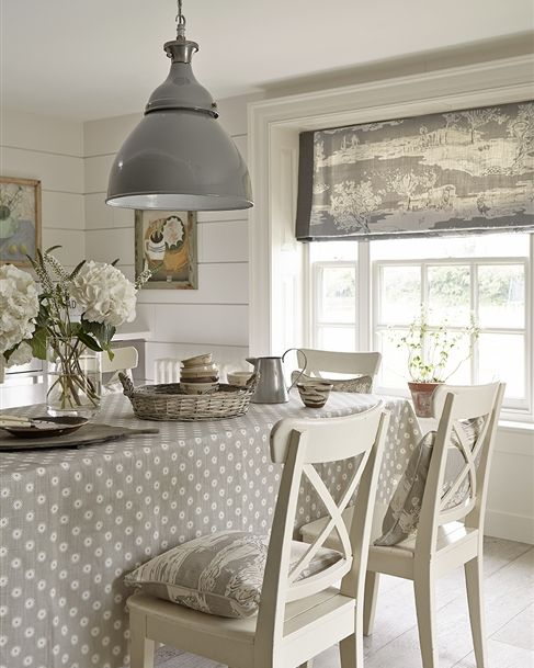 Roman Blinds Kitchen