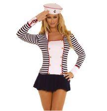 Deluxe Y Sailor Captain Sea Princess Party Hen Night Costume Student Festival