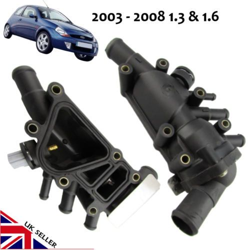 Leakage And Not Switching To Radiator Fan May Cause Bigger Engine Problems Replace The Old Damaged Thermostat Housing With This Ford Radiator Fan Petrol Ford