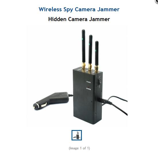 Wireless Spy Camera Jammer | G A D G E T | Wireless spy camera, Spy