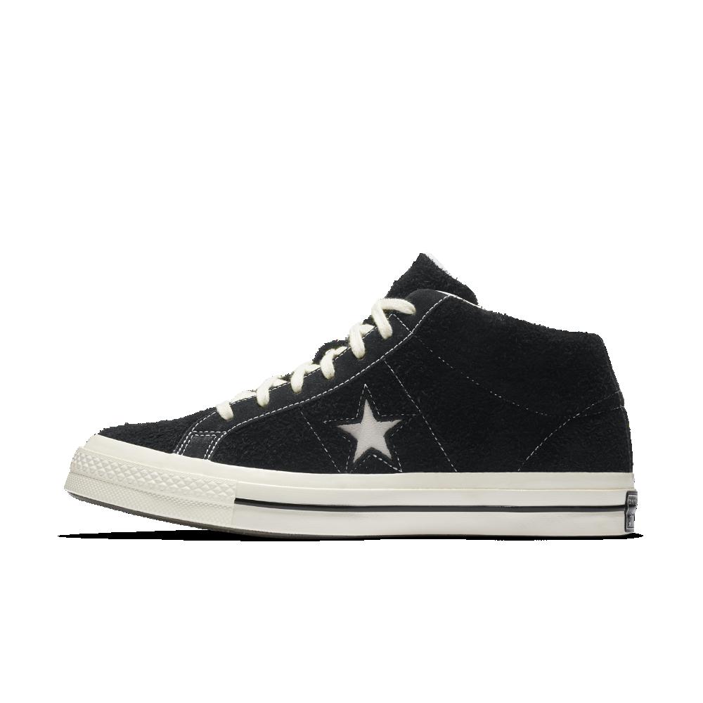 1e071f443f73de Converse One Star  74 Mid Vintage Suede Shoe Size