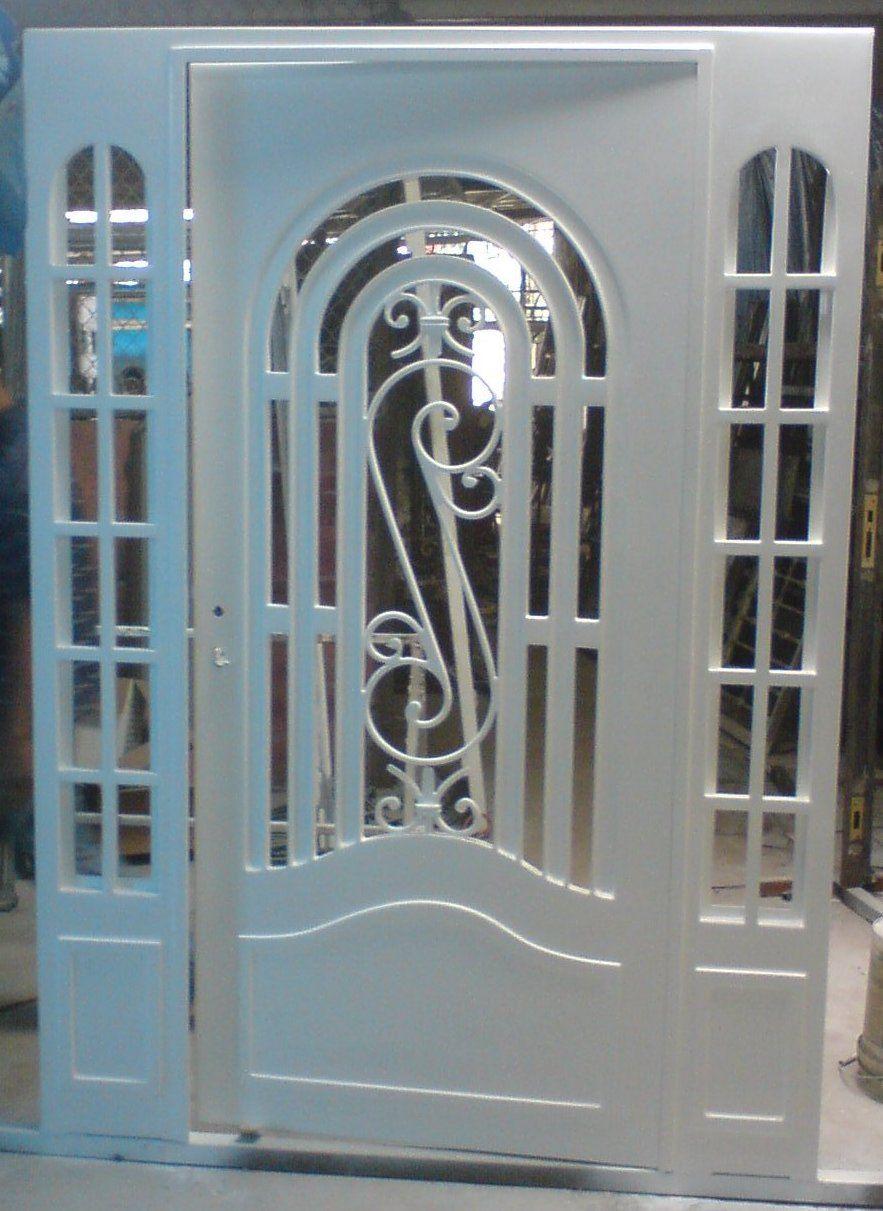 Nosotros herrerias cruz puertas pinterest - Modelos de puertas de hierro ...