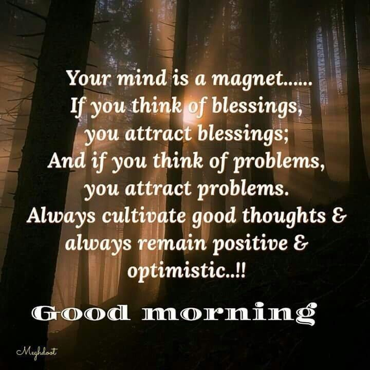 Good Morning Positive Quotes Entrancing Pinviji Chidam On Gudmorning Msg  Pinterest  Blessings