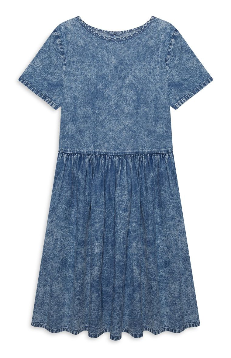 Older girls denim skater dress rosie pinterest