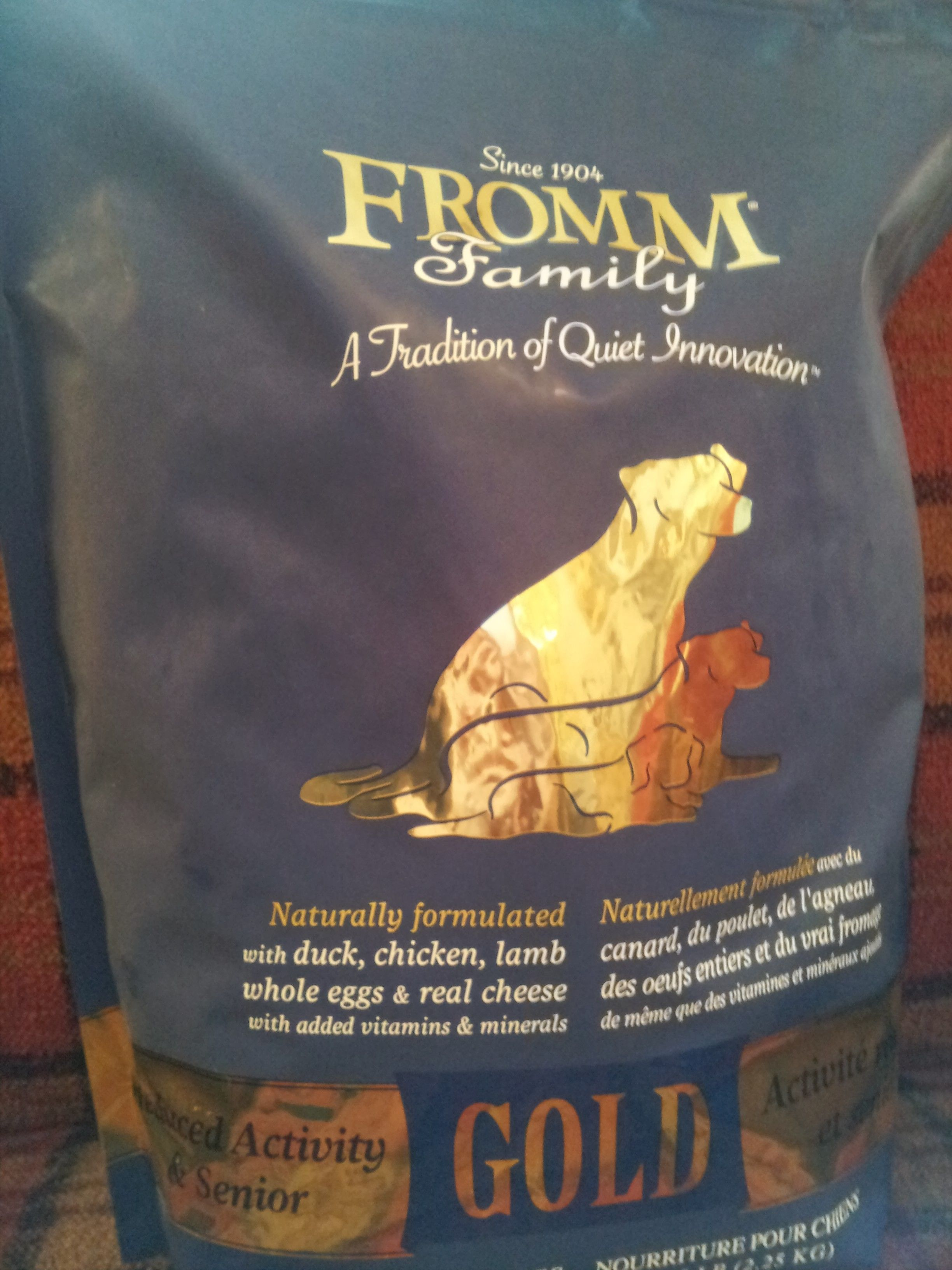 Fromm Gold Reduced Activity Senior Dog Dental Cleaning