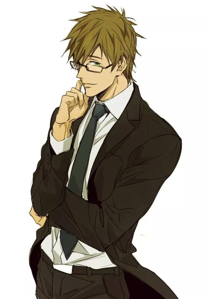 Anime Characters In Suits : Makoto tachibana free pinterest