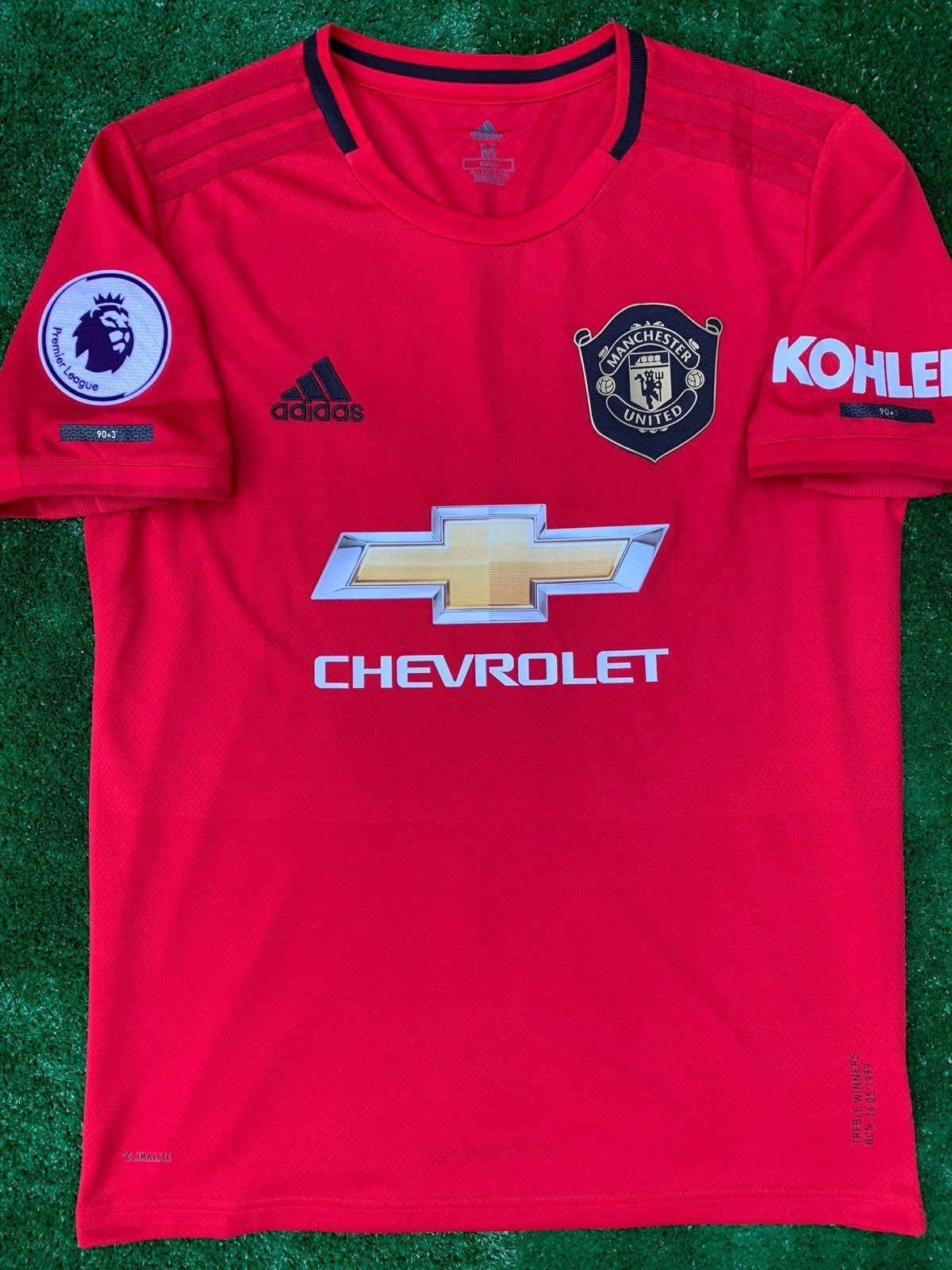 Brand New Man Utd Home Jersey For The Upcoming 2019 20 Season With Epl Patch And Marcus Rashford On The Back Size M Hablo Espa Mens Tops Jersey Mens Tshirts