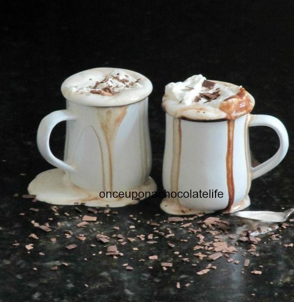 Fleur De Sel Hot Chocolate (Once Upon A Chocolate Life