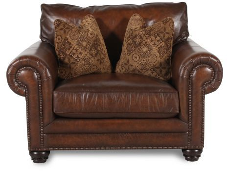 Peachy Bht 7313Lxo Bernhardt Harrington Leather Chair And A Half Ocoug Best Dining Table And Chair Ideas Images Ocougorg