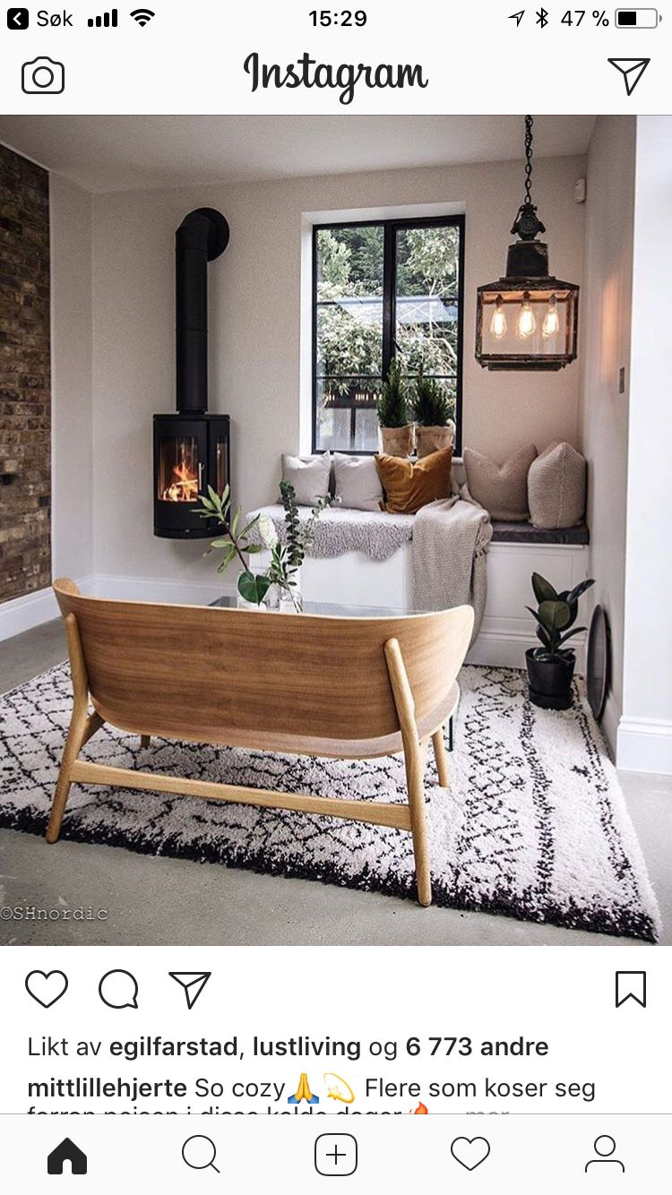 Cosy And Wood Burner Home Living Room Living Room Decor House Interior