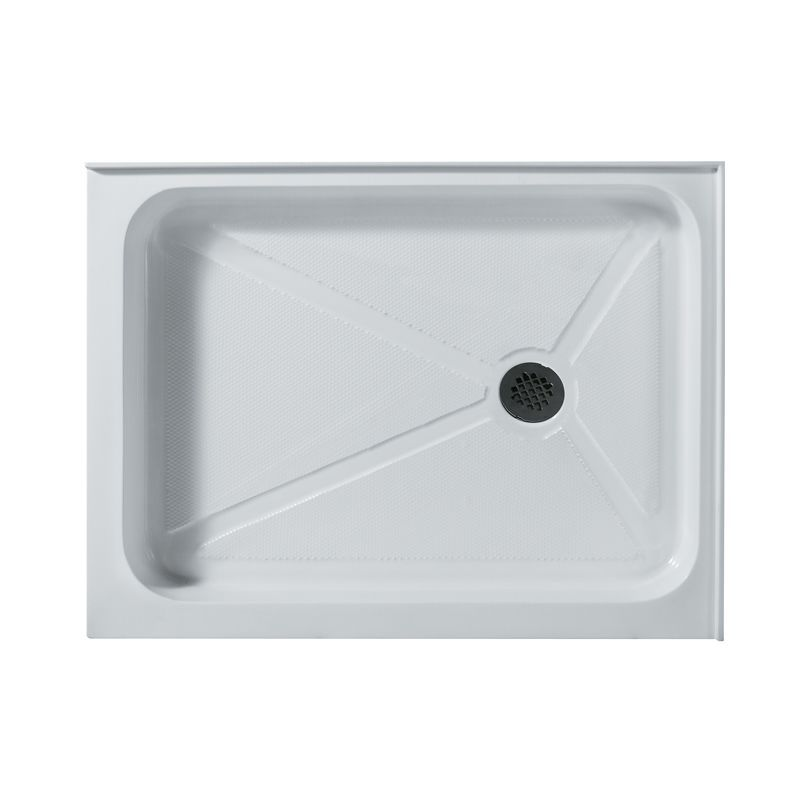 Vigo Vg060193240r 32 X 40 Rectangular Shower Tray White Right