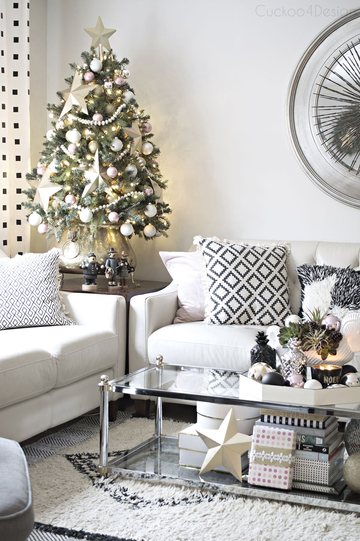 Better Homes and Gardens Christmas Ideas Home Tour | Small christmas ...