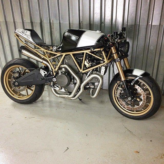 Ducati Cafe Racer Fortecatlanta Jesse Spade Motorcycles
