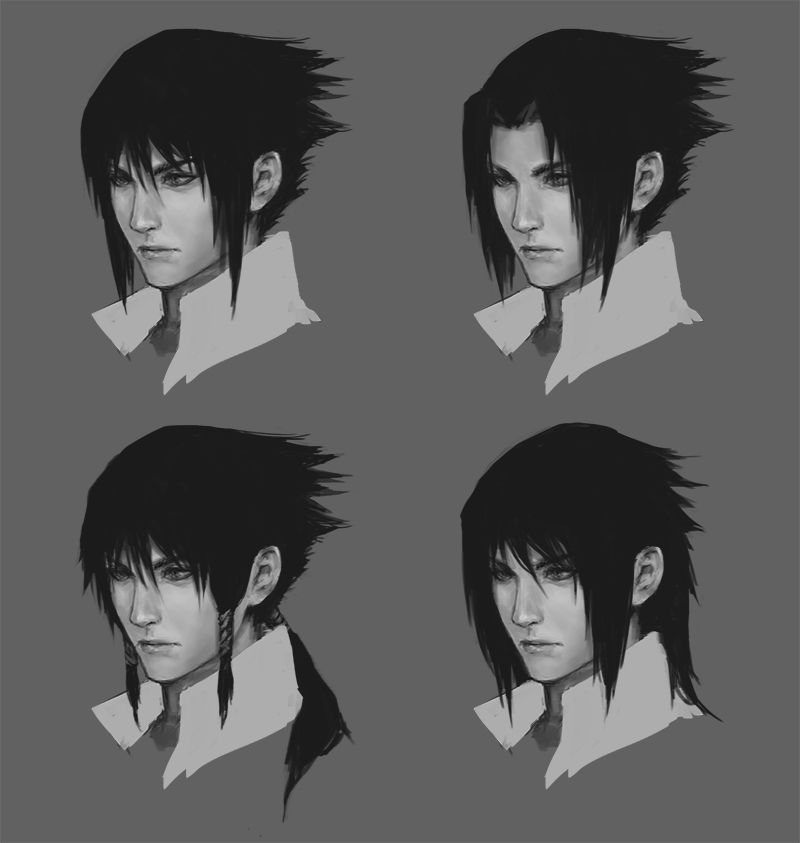Real Life Anime Hair Male: Sasuke Hair, Uchiha, Sasuke