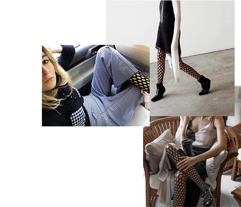 6599988eee671 Trend alert: Fishnet Tights | Outfits | Fishnet tights, Fishnet ...