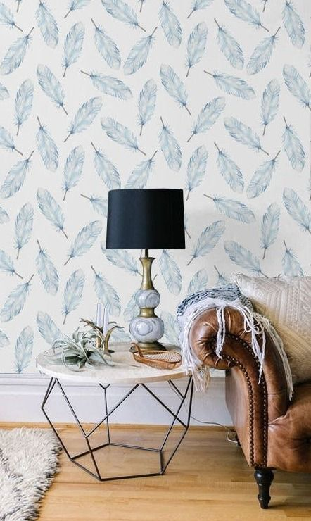 Renters! Get the Wallpaper Look Without the Commitment | Pinterest ...