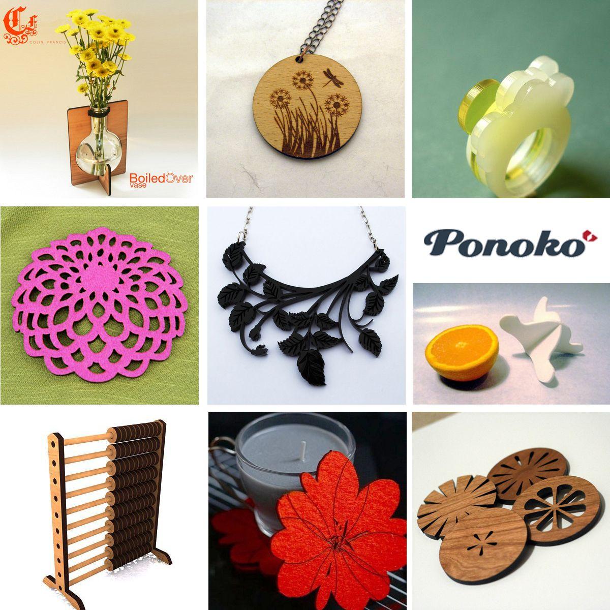 designer coasters Â« ponoko – blog  coasters  pinterest - designer coasters Â« ponoko – blog